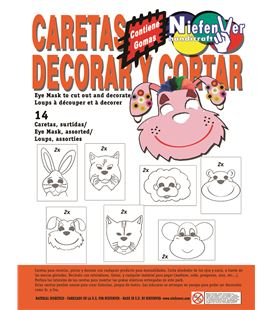 Careta decorar pintar 14u. niefenver 0700133 092349