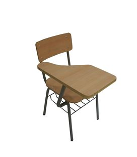 Silla universitaria foliormica atril fijo crom-2 998 - 29256