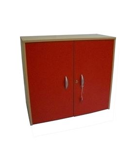 Armario puerta melamina rojo crom-2 6204 - 29263