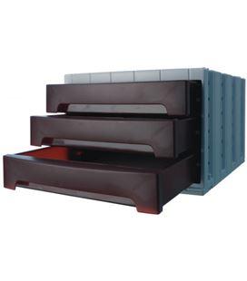 Modulo organizador 3 cajones opaco burdeos archivotec 6003m bu - 6003B