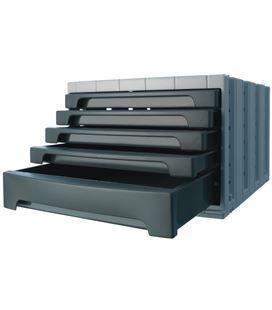 Modulo organizador 5 cajones opaco grafito archivotec 6014mp - 6014GF