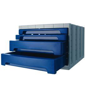 Modulo organizador 4 cajones opaco azul archivotec 6022mp - 6022MP