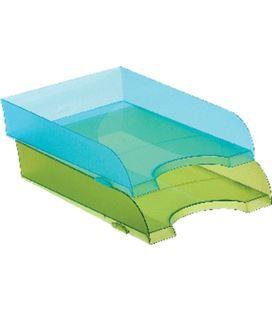 Bandeja sobremesa azul transluci. 745 archivo 2000 352562