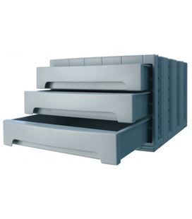 Modulo organizador 3 cajones opaco gris archivotec 6003m gs - 6003GS