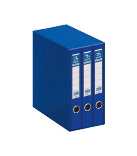 Modulo 3 archivador palanca folio 70mm azul archi. dohe 91005