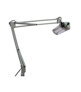 Flexo mesa t-88 hf. mordaza gris aluminio luxo - 26313 (2)