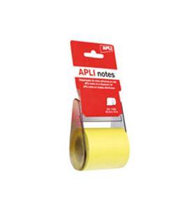 Nota adhesiva posit rollo dispensador 60mmx10m apli 11595