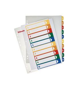 Separadores indice personalizables imprimible 1-6 esselte 100212 - 100449