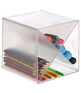 Organizador sobremesa c/division en x cristal archivo 2000 6703tp - 150343
