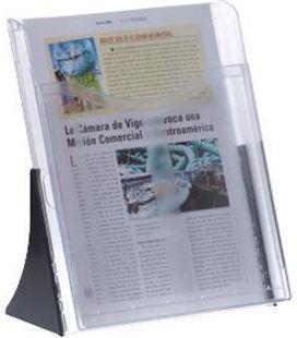 Expositor sobremesa a4 vertical cristal archivo 2000 601tp - 130593