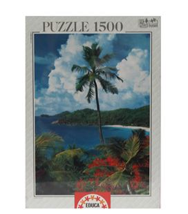 Puzzle 1500 pzas isla de mahe educa 12018 - 12018