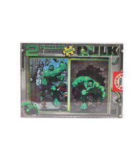 Puzzle 500 pzas hulk 2uds educa 12248 - 12248