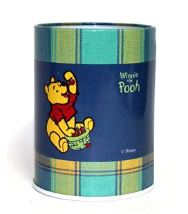 Bote metal lapicero lapizs winnie the pooh cuadros safta 3461099