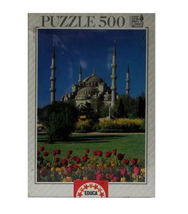 Puzzle 500 pzas mezquita azul educa 10582 - 10582