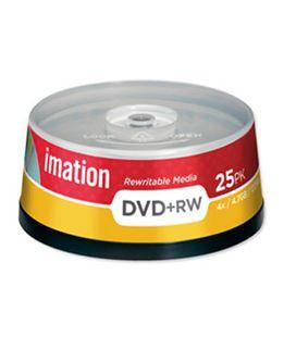 Dvd+rw 4,7gb 8x bobina 25uds imation 22-16867-3 - 120115