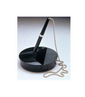 Boligrafolio boli con base y cadena 52cm fellowes 9821502