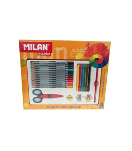 Pintura kit escolar milan 80015