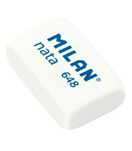 Goma de borrar nata pequeña 648 milan 6488