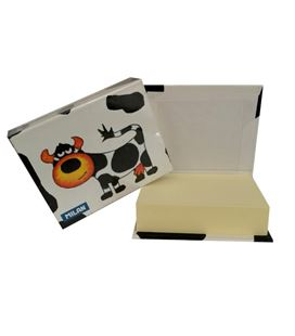 Notas adhesivas 105x85 250h taco tapa dura vaca milan 85389