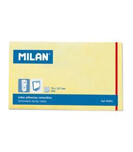 Nota adhesiva posit 75x125 100h amarilla milan 855019