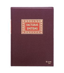 Libro contable folio 100h facturas emitidas dohe 09907 - 09907