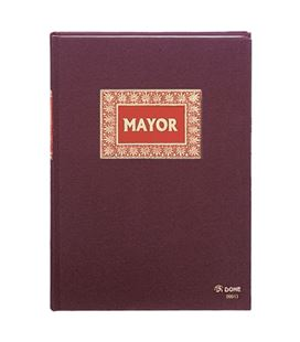 Libro contable folio 100h mayor dohe 09913 - 09913