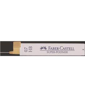 Minas 07 hb tubo 12uds super-polymer faber castell 120700