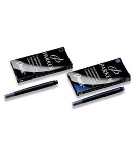Cartuchos tinta pluma 5uds negro parker 46945121993 - PKS0116200
