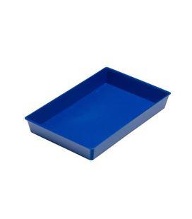 Bandeja multiuso 23x14,5x3 azul faibo 210-07