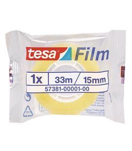 Cinta adhesiva transparente 15mmx33mts stand. tesa 57381-00