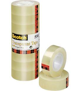 Cinta adhesiva 19mmx33m acordeon a.8 scotch 5501933a - 200169
