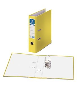 Archivador palanca folio 70mm amarillo archicolor dohe 09404