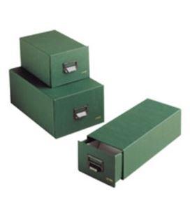 Fichero carton verde nº1 500 fichas escudero 650