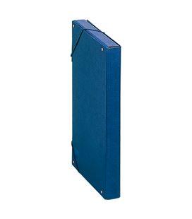 Carpeta proyecto folio 3cm carton foliorrado azul dohe 09720