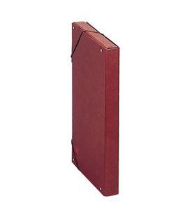 Carpeta proyecto fº 3cm carton cuero forrado dohe 09571