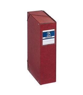 Carpeta proyectos 9cms carton cuero foliorrado dohe 09574