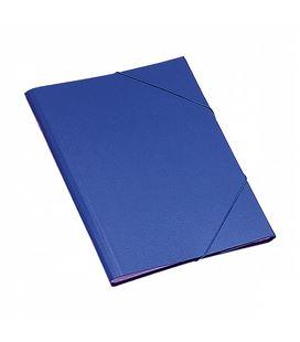 Clasificador a4 solapa azul carton plastificado dohe 10311 - 05602