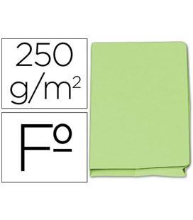 Subcarpeta pocket fº verde c/sola caja 25u. elba 400040685 - 34580