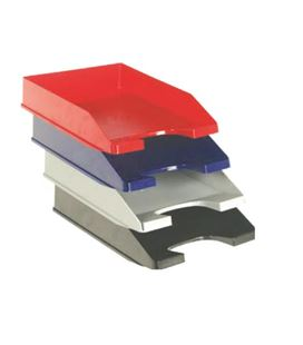 Bandeja apilable liso 740 azul 258x350x65 archivo 2000 - 150003