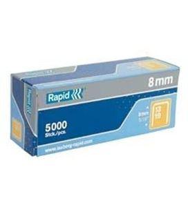 Grapa duax galvanizadas caja 1000uds rapid 21808300