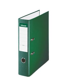 Archivador palanca folio 75mm verde esselte 42302