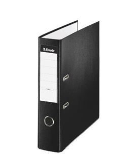 Archivador palanca folio 75mm negro foliorrado esselte 42304