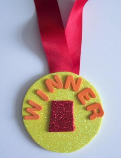 Medalla de Goma Eva